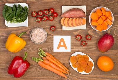 Các loai thực phẩm chứa nhiều vitamin A