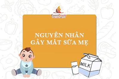 Nguyên nhân gây mất sữa mẹ