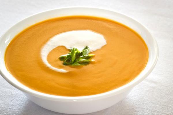 súp ngô đậu hũ cà rốt nghiền
