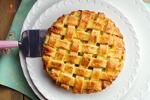 bánh táo nướng
