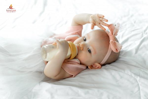 Cách sử dụng sữa công thức ăn toàn cho trẻ nhỏ