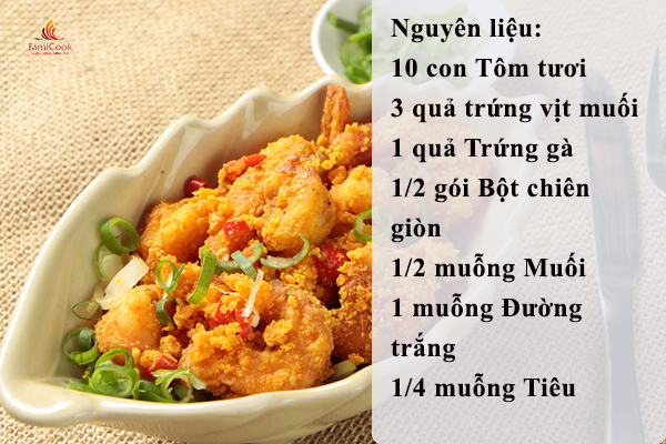 Món ngon từ tôm