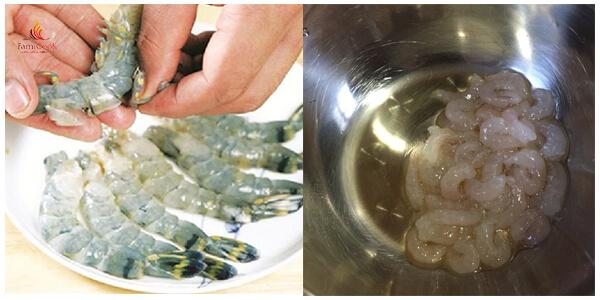 Cách làm tôm cuộn trứng