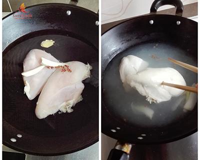 Nộm gà rau củ