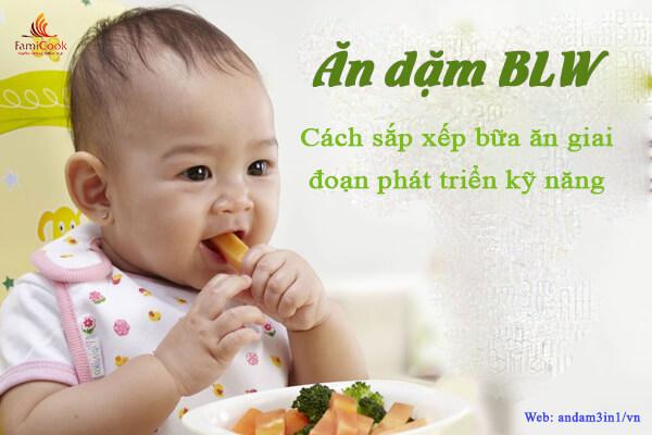 Cách sắp xếp bữa ăn cho trẻ