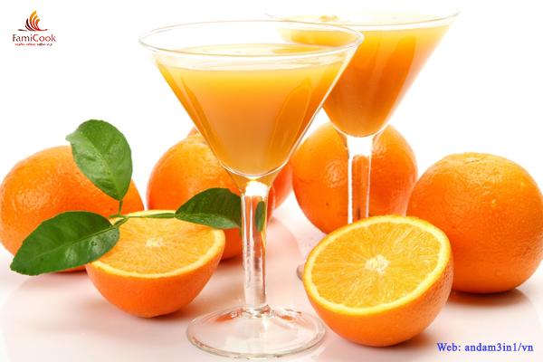 Lợi ích sức khỏe của trái cam