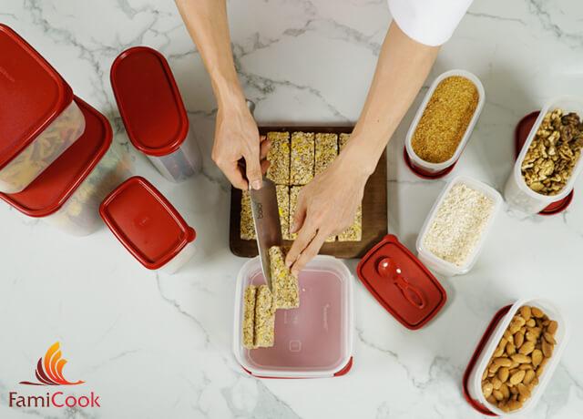 cách làm bánh granole đơn giản tại nhà