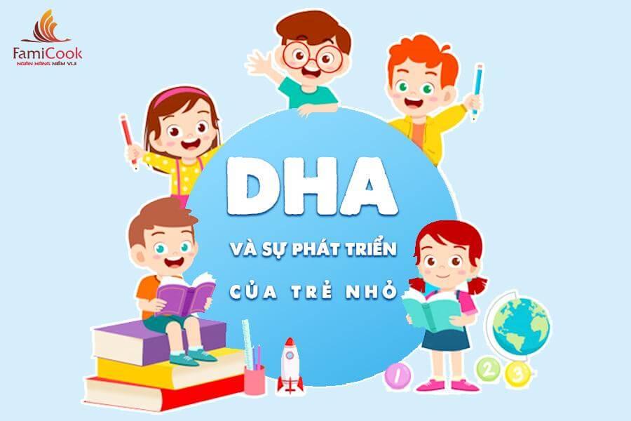 DHA và sự phát triển của não bộ trẻ nho