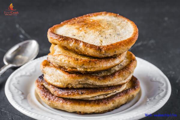 Bánh pancake yến mạch hạt chia