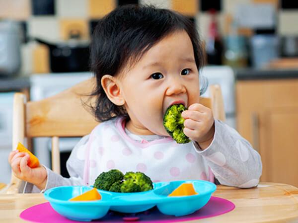 quy tắc bàn ăn ở trẻ nhỏ