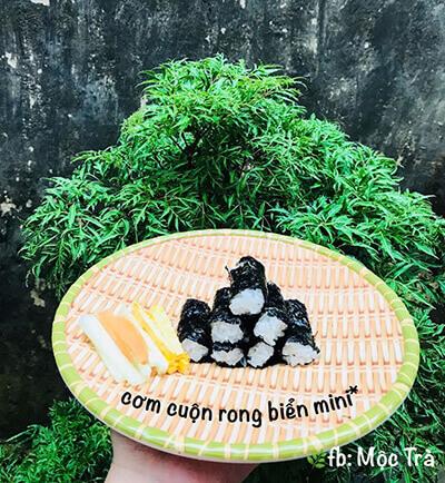 Rong biển cuộn cơm
