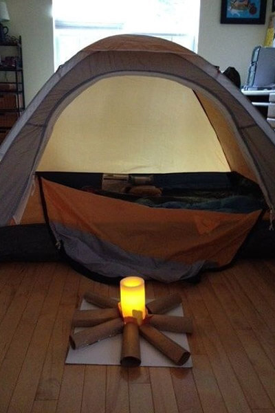 Cắm trại trong nhà