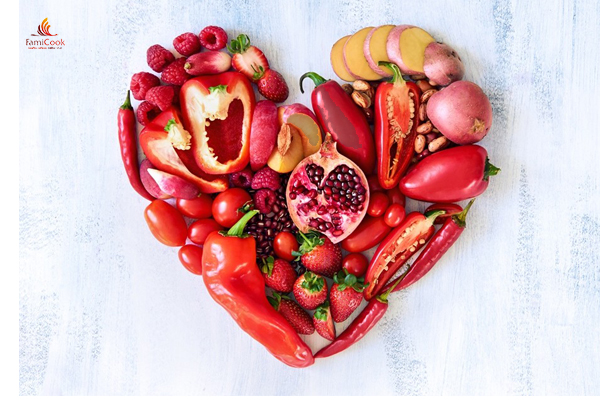 thực phẩm màu đỏ
