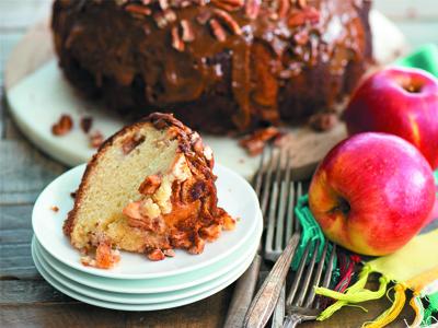 Bánh táo yến mạch cho bé ăn dặm